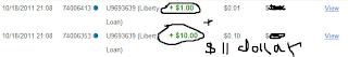 Payout Pertama Liberty-loan.com gambar