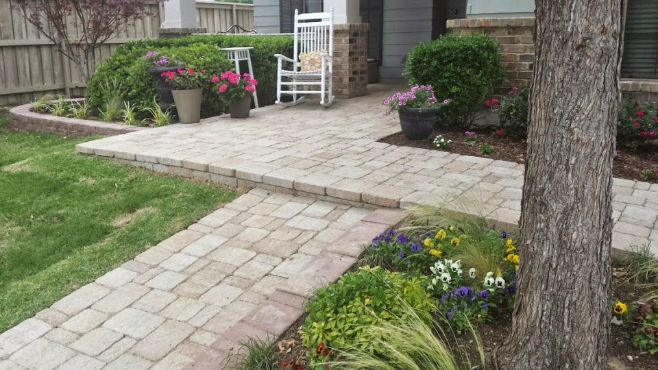 Paver Walkway Designs - Patio Paver Ideas