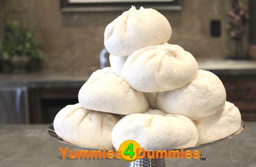 Yummies4DummiesSteamed Pork Buns (Bánh Bao)