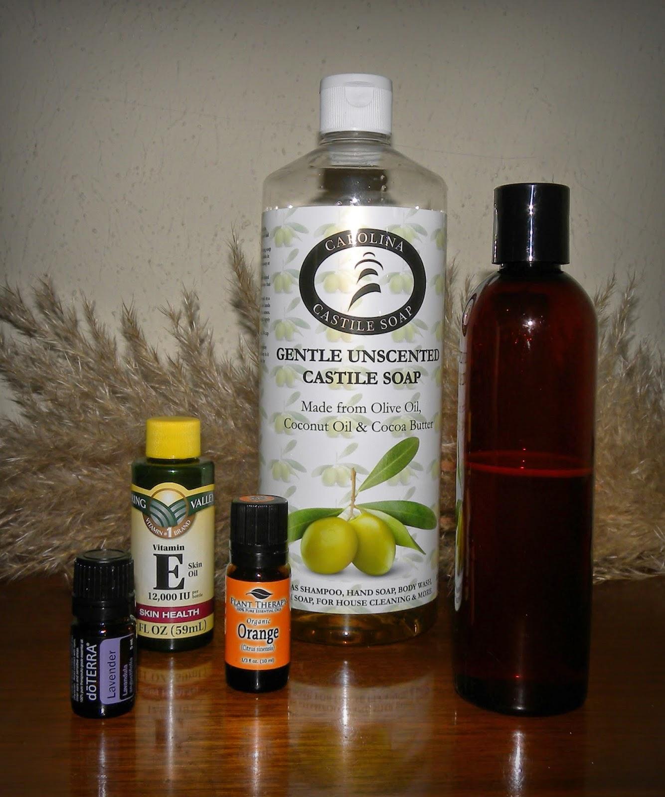 Castile soap shampoo review