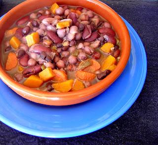 Chili de cuatro legumbres