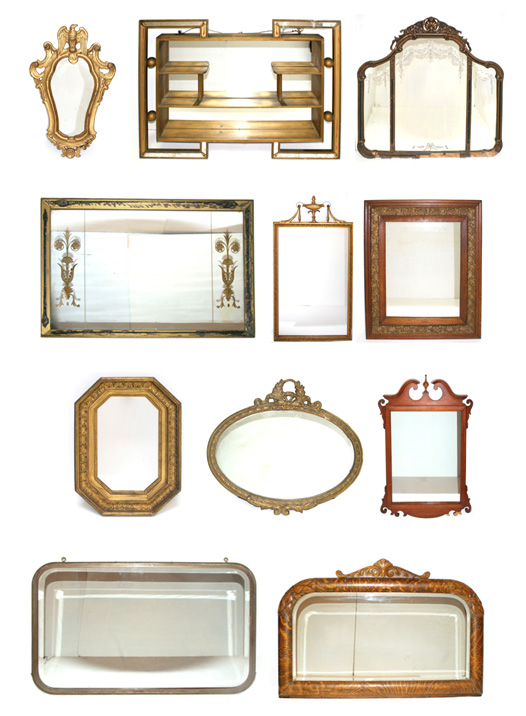 Mirrors from Demolition Depot