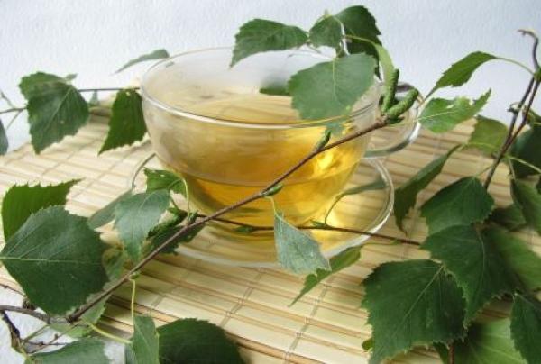 Чай кора березы