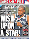 The Nets! Kings of the back page?