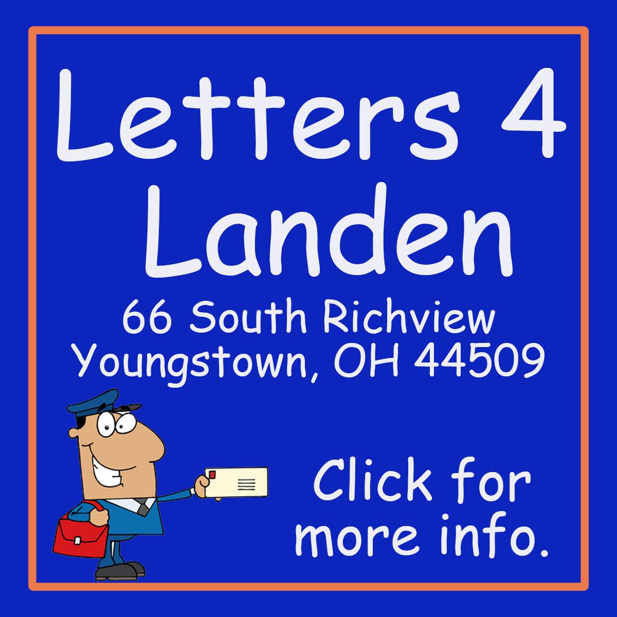 Letters for Landen