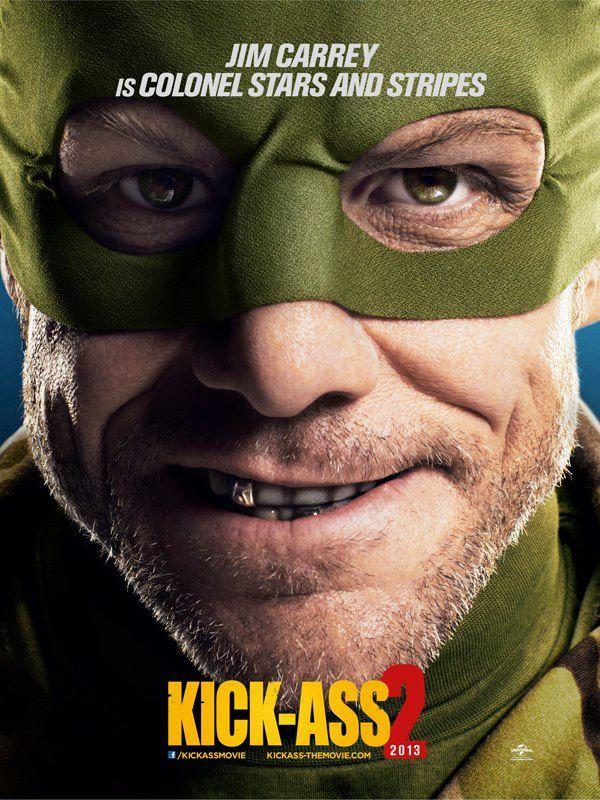 Jim Carrey en Kick-Ass 2
