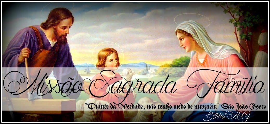 Missão Sagrada Família - Betim/MG