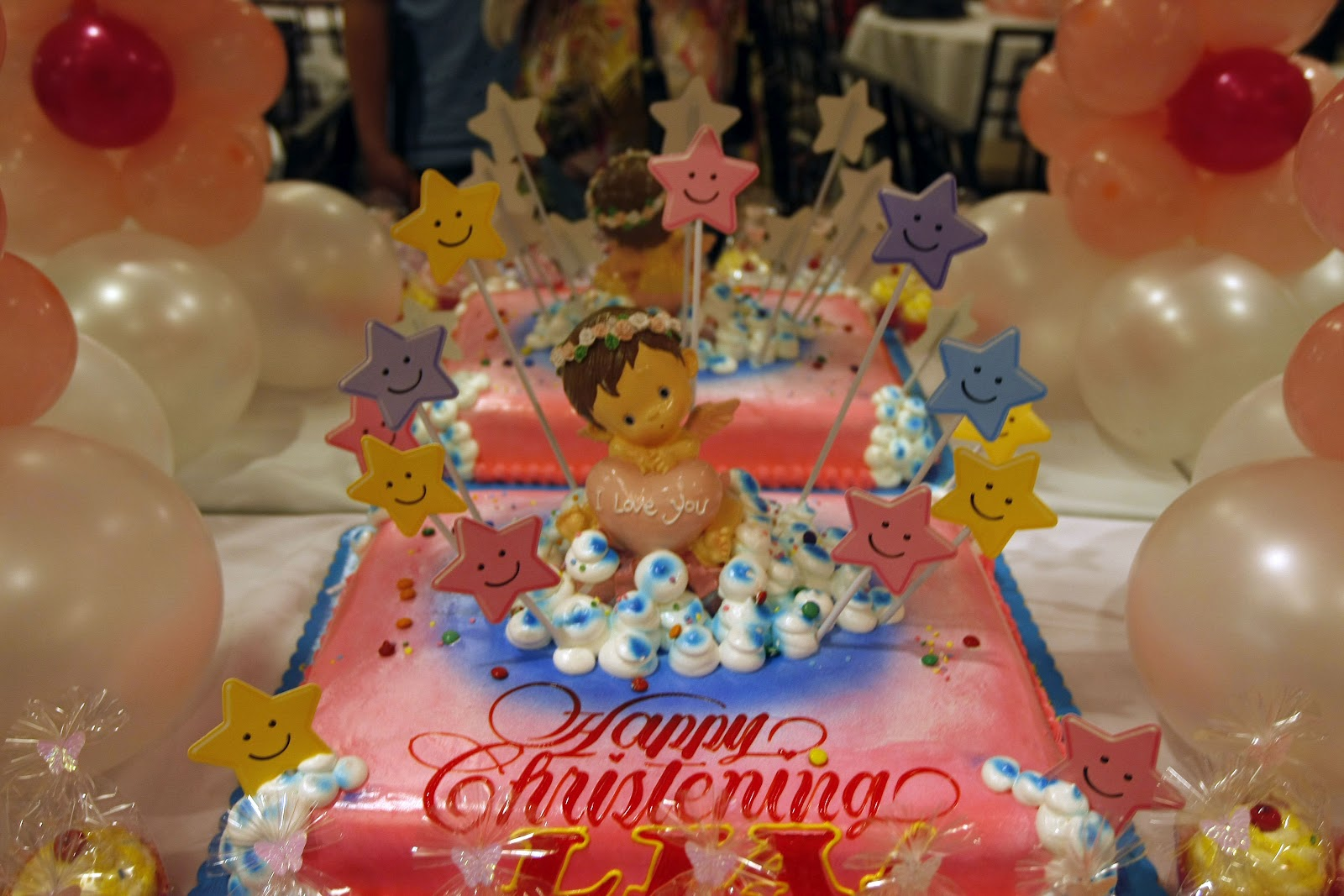 Goldilocks Cake Design For Christening : Lia s Baptism: Sacred Heart, Tramway & a supplier rundown ...
