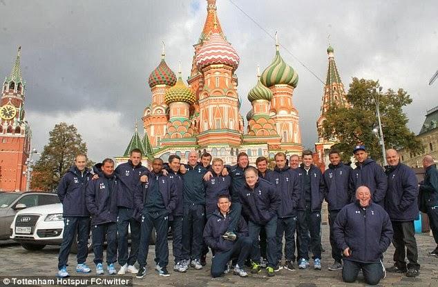 Anzhi Makhachkala vs Tottenham Hotspur