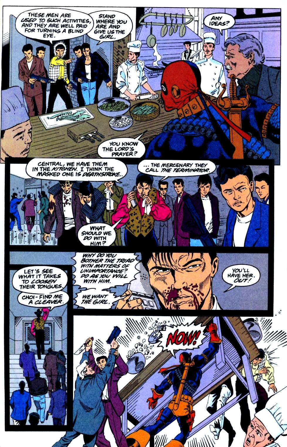 Deathstroke (1991) Issue #29 #34 - English 10