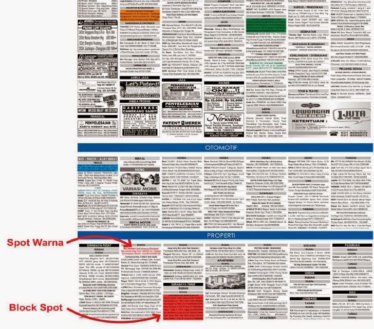daftar harga iklan baris jawa pos 2015