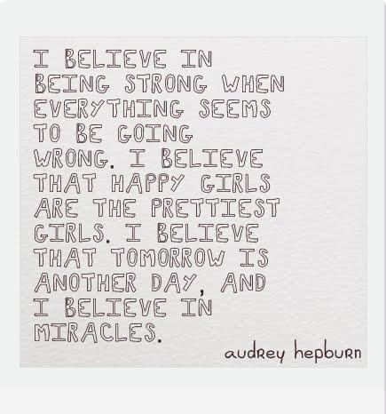 I Believe by Audrey Hepburn