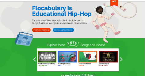 Flocabulary- An Online Library of Educational Music Videos to Use in Class
