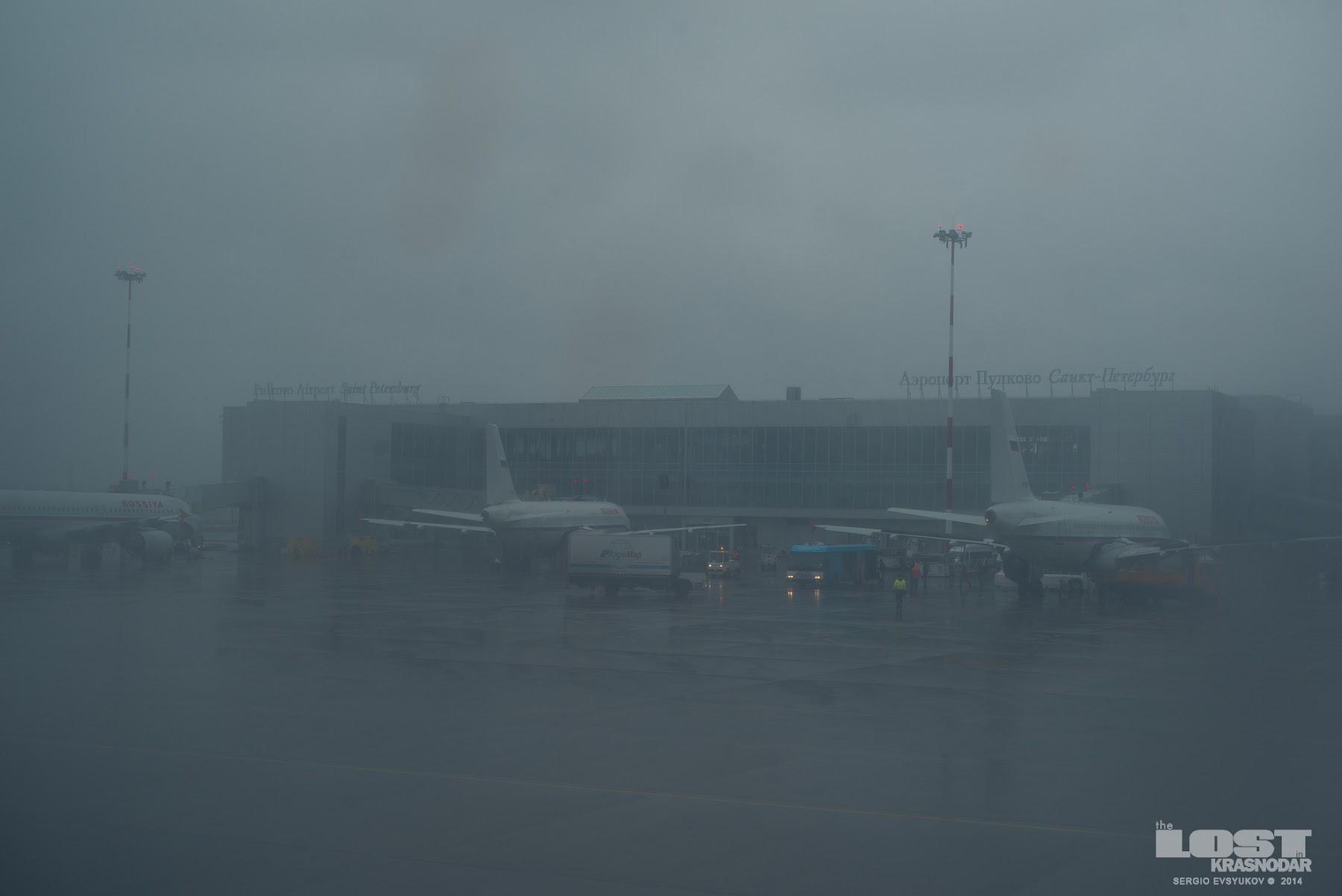 Saint Petersburg is also served by Pulkovo International Airport