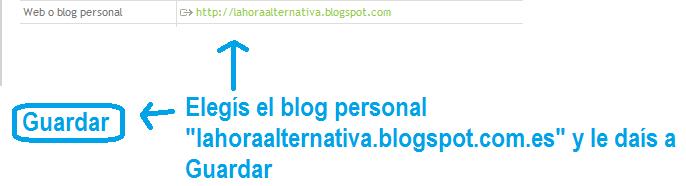 Voto para lahoraalternativa.blogspot.com.es en los Premios Buber 2013