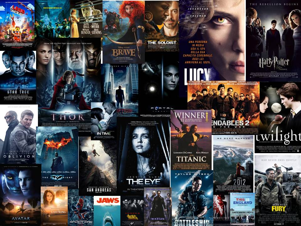 All These Movie Posters Range From Different Genre And Eras Each Appeal To Their Audience In Ways