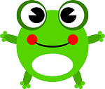 One little frog