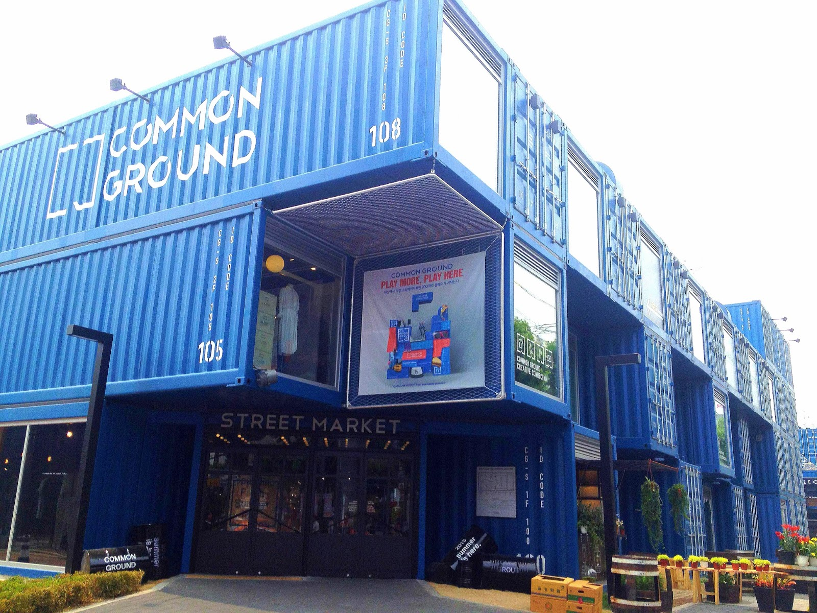 Common Ground: Seoul's Shipping Container Complex