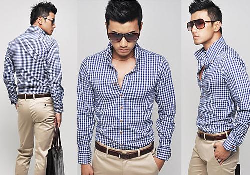 Trend Model Baju Kemeja Panjang Pria Terbaru 2015