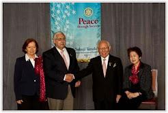 Sakuji Tanaka  y Sra. &  Hugo H. Pais y Sra.
