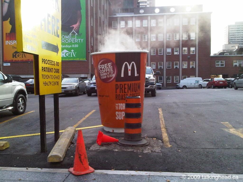 McDonald's Guerrilla Marketing | Engaging Guerrillas Blog ...