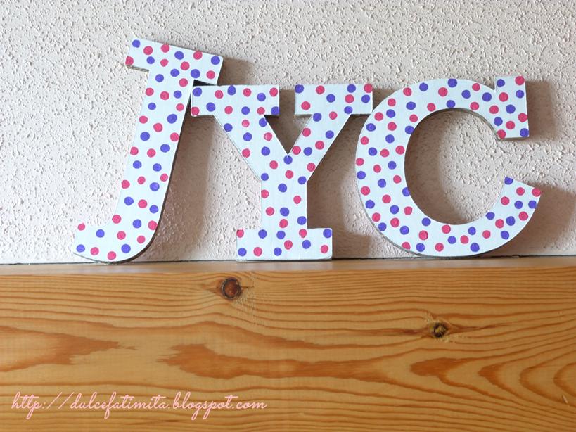 Hacia el lado bueno de la vida diy letras de cart n - Letras de decoracion ...