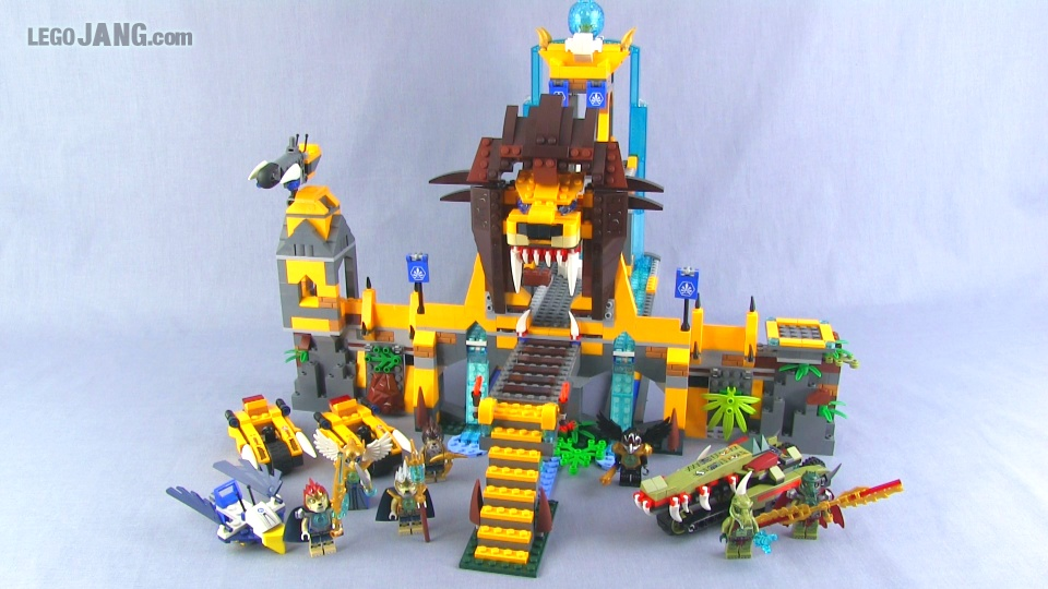 LION CHI TEMPLE - LEGO Legends of Chima Set 70010 Time