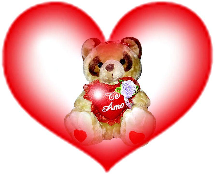 Imagenes De Peluches Con Rosas - Imagenes y fotos Frases de Amor con Peluches parte 2