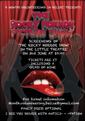 Rocky Horror Fund Raiser Friday 3rd June