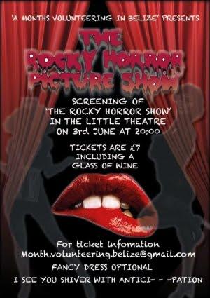 Rocky Horror Fund Raiser Friday 3rd June