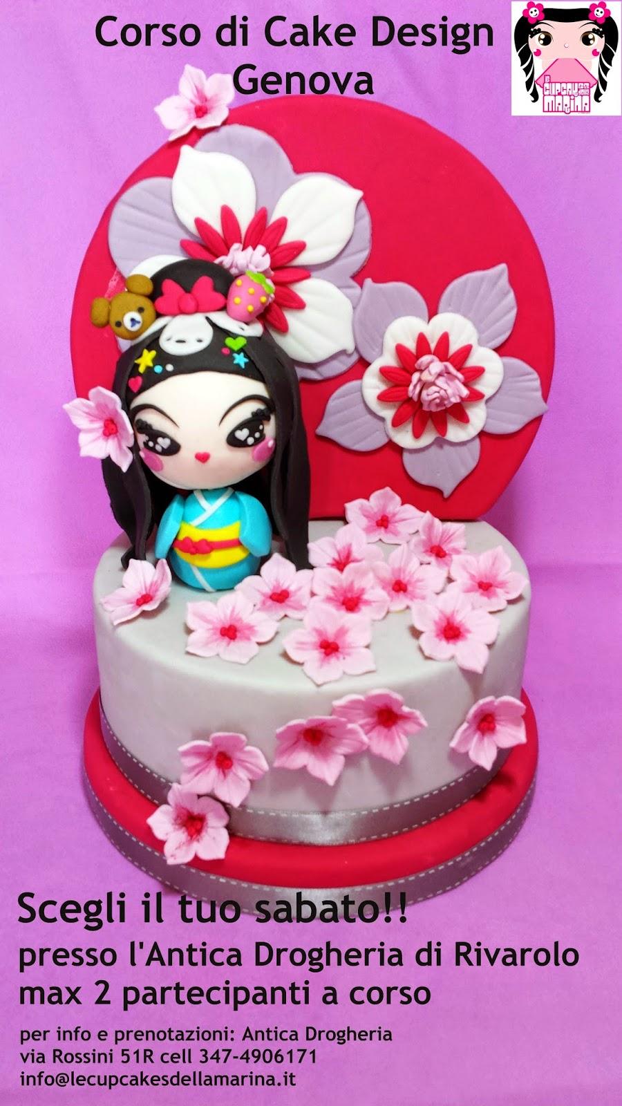 Le Cupcakes della Marina: Corso Cake Design Genova 2014