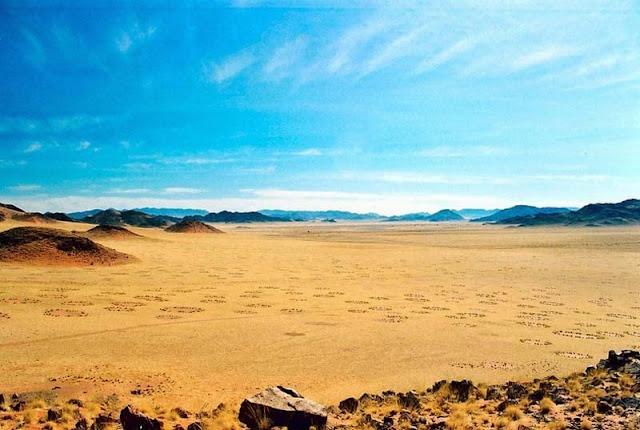 Los misteriosos círculos de Namibia. Noticias curiosas