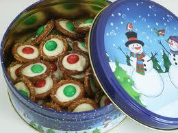 White Chocolate Round Pretzal Cookies