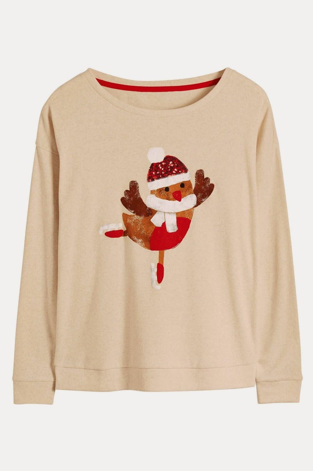 next ladies robin jumper,