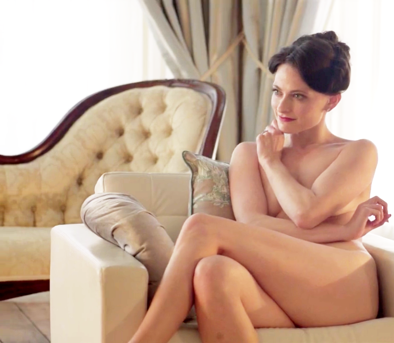 Sir Arthur Conan Doyle's original 'A Scandal in Bohemia.' British actress Lara Pulver plays the dom. The lady got naked to flirt with the detective.