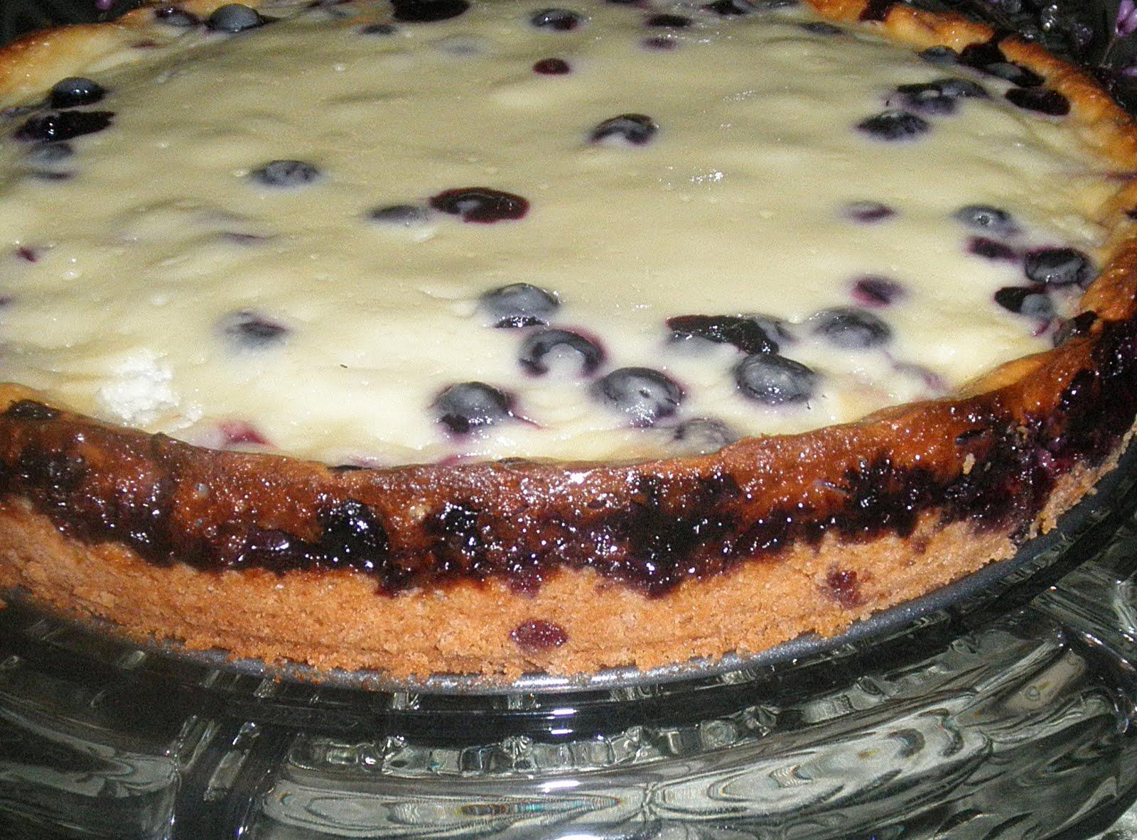 Concetta's Cafe: Nova Scotia Blueberry Cream Cake