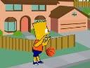 Simpson Basketball   Juegos15.com