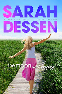 The Moon and More.  Great realistic YA contemporary fiction book.  Fabulous fast read. Alohamora http://alohamoraopenabook.blogspot.com