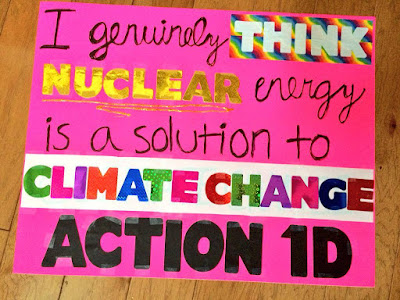 Nuclear energy is a solution to climate change - Action 1D