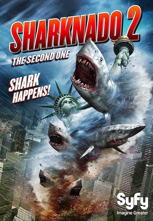 ¿Preparados para el Sharknado?
