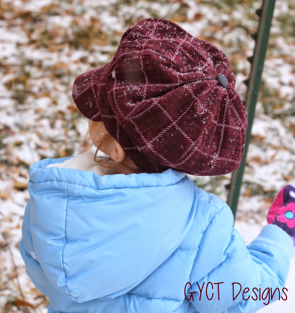 Newsie Cap from Peek-a-Boo Patterns