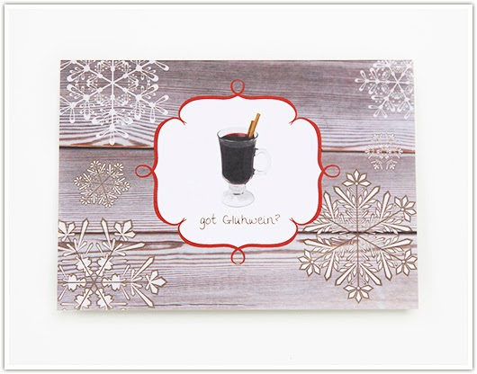 Got Gluhwein Card by Paper & Party Love