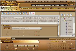 برنامج Music Morpher لفصل المغني