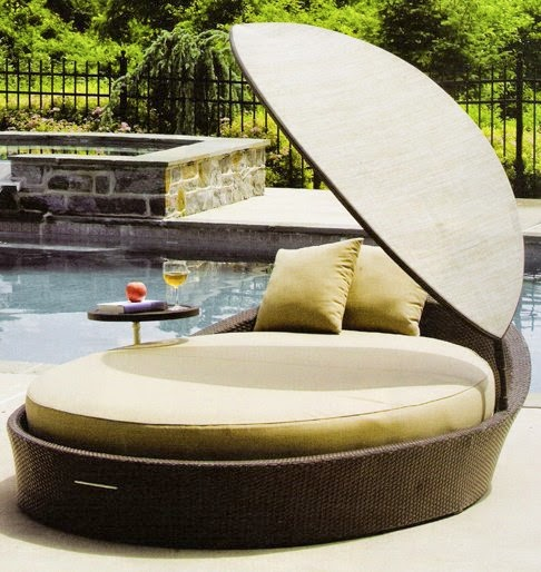 georgeus and unique outdoor daybeds