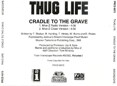 Thug Life – Cradle To The Grave (CDS Promo) (1994) (192 kbps)