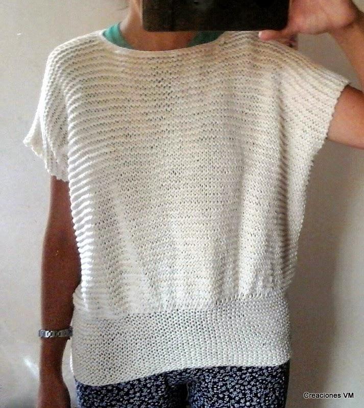 Suéter de verano