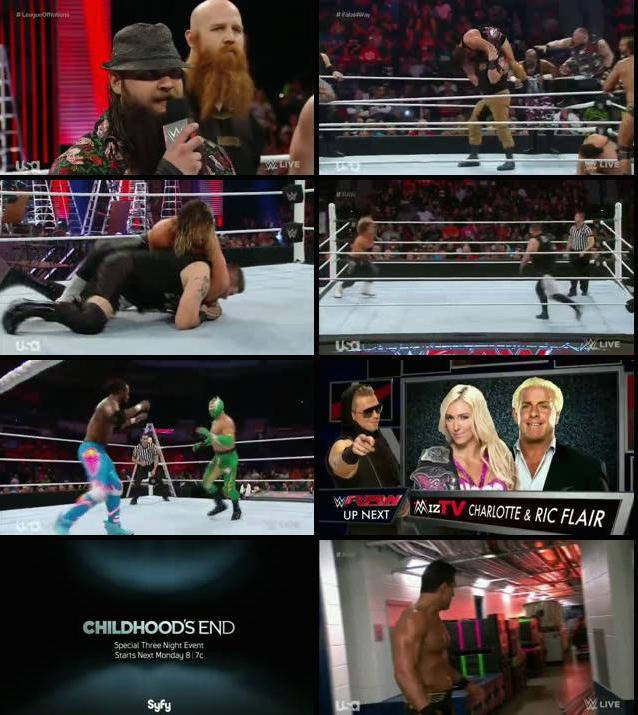 WWE Monday Night Raw 07 Dec 2015 HDTV 480p