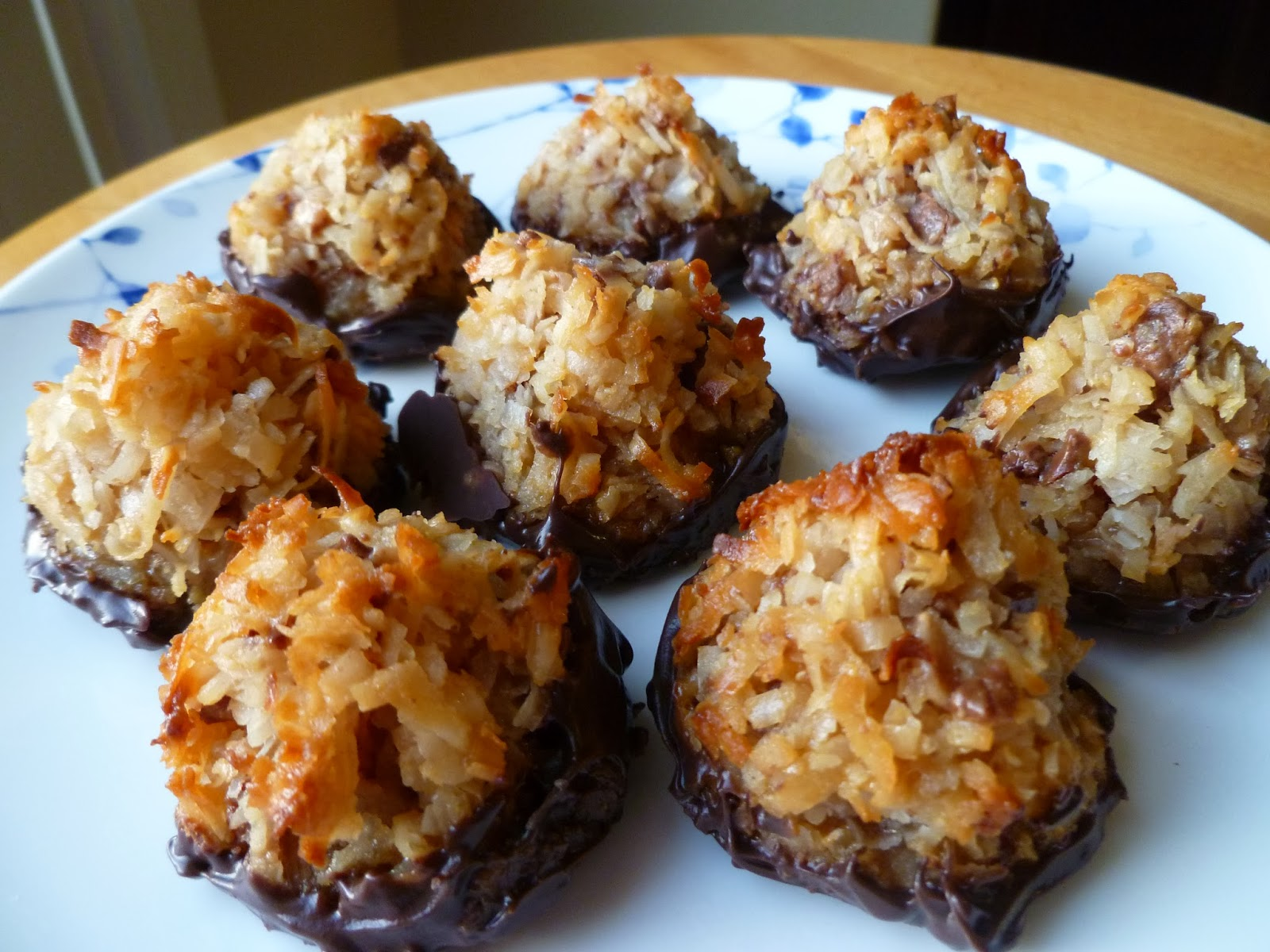 The Pastry Chef's Baking: Salted Caramel Toffee Coconut Macaroons