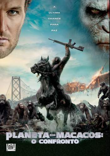Planeta dos Macacos: O Confronto Torrent - BluRay 720p/1080p Dublado