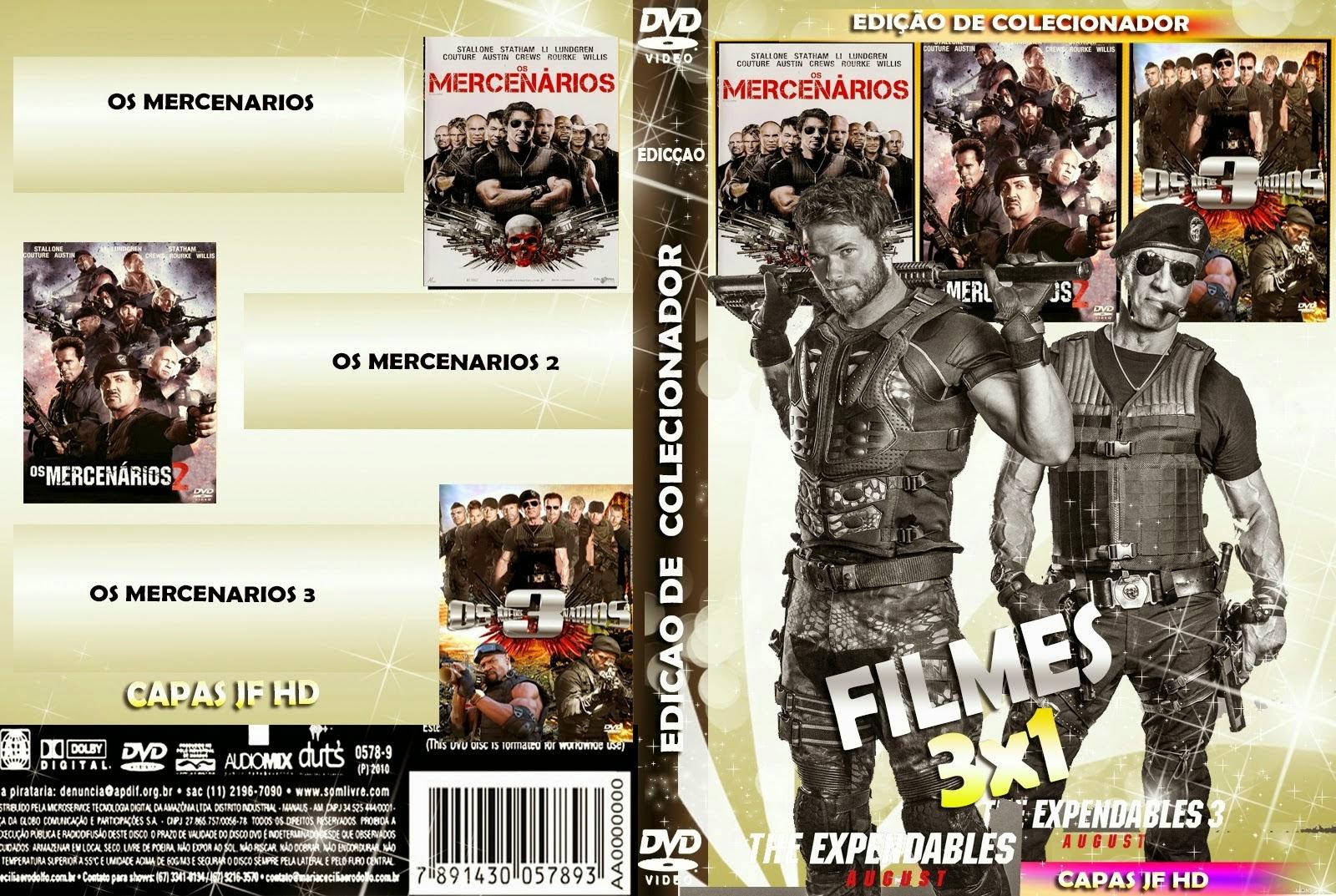 Trilogia Os Mercenários BRRip x264 Dublado COLECAO 2BOS 2BMERCENARIOS